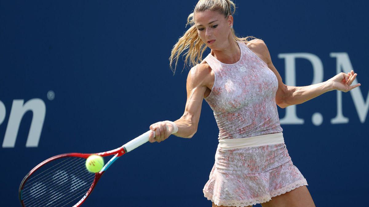 Camila Giorgi contro Simona Halep al primo turno dello US Open 2021