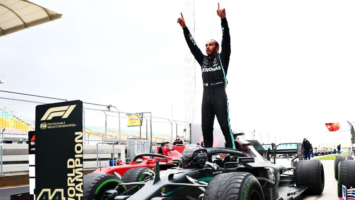 Lewis Hamilton krönt sich in Istanbul zum Weltmeister