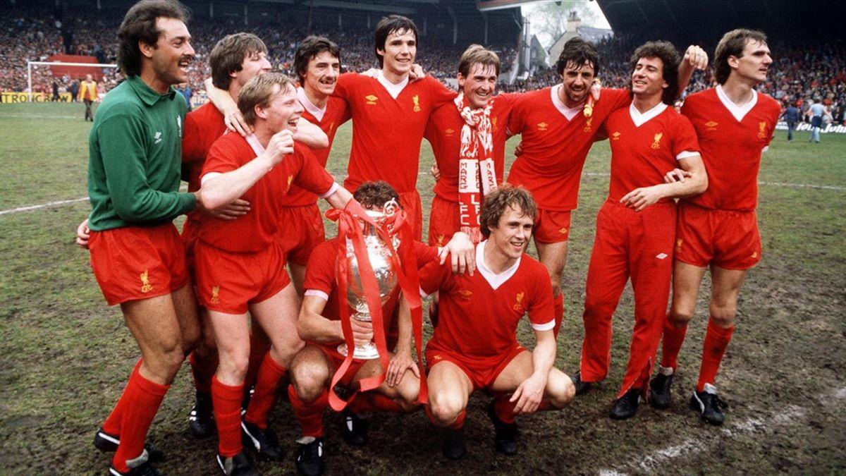 Liverpool a dominat campionatul Angliei în anii '80