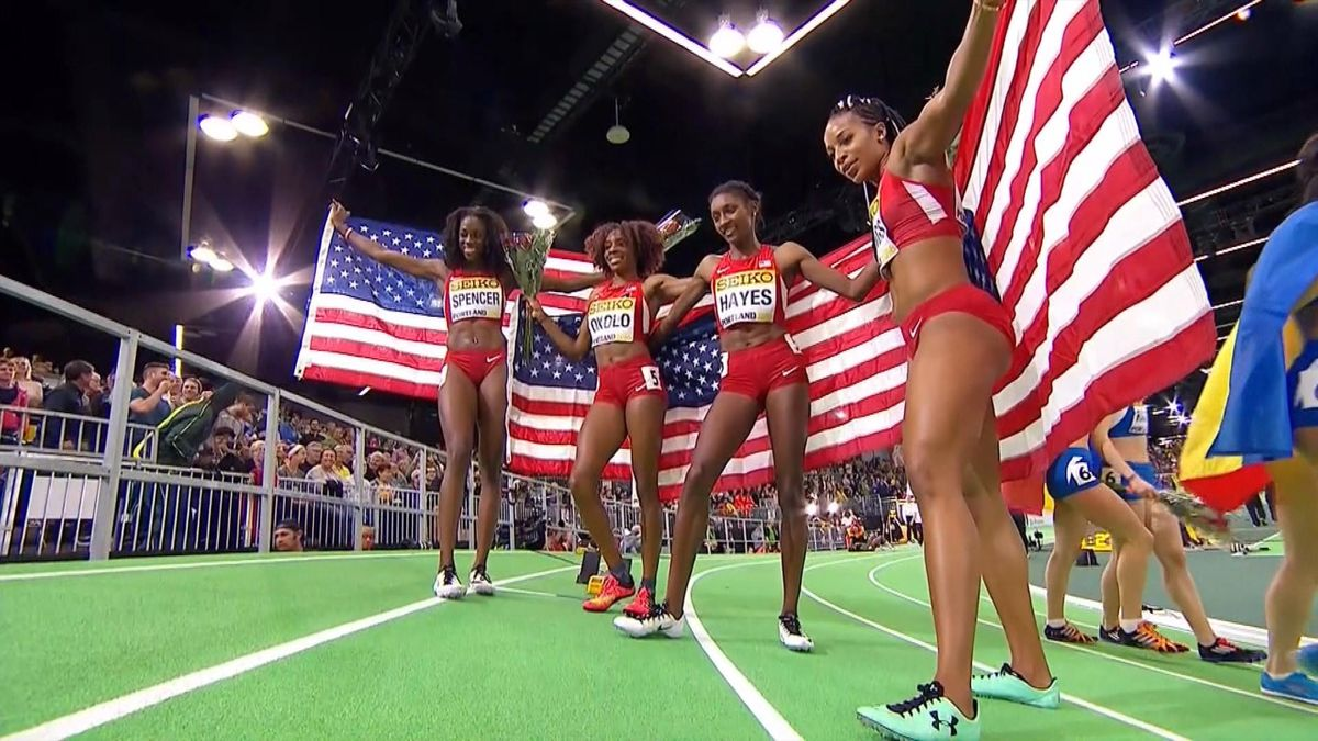 Athletics - Indoor WCH : Women's 4x400m relay