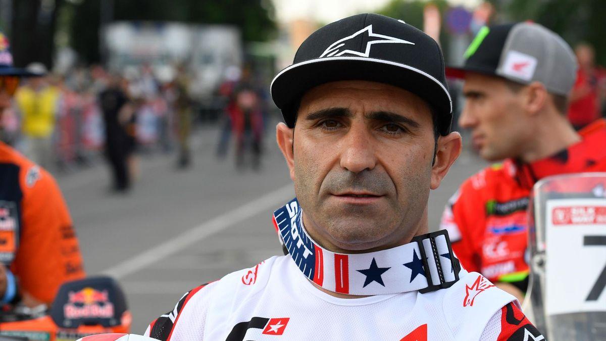 Paulo Da Silva Goncalves (Hero) lors du Silk Way Rally le 6 juillet 2019