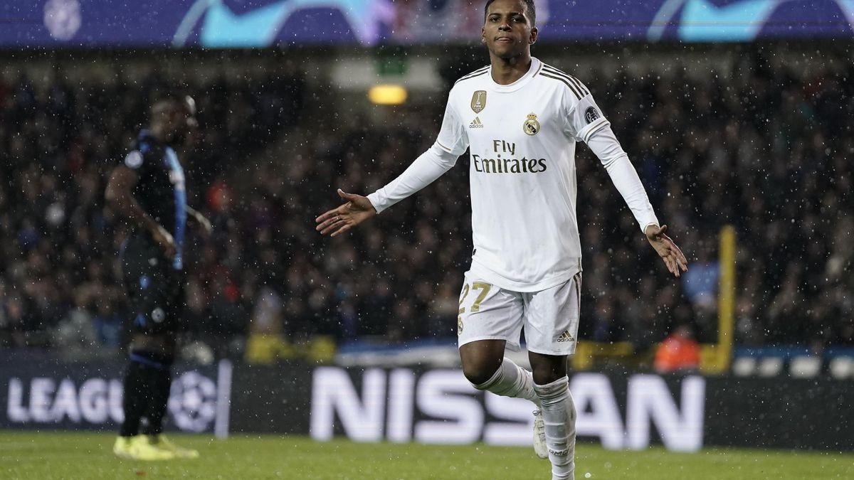 Rodrygo, atacantul lui Real Madrid