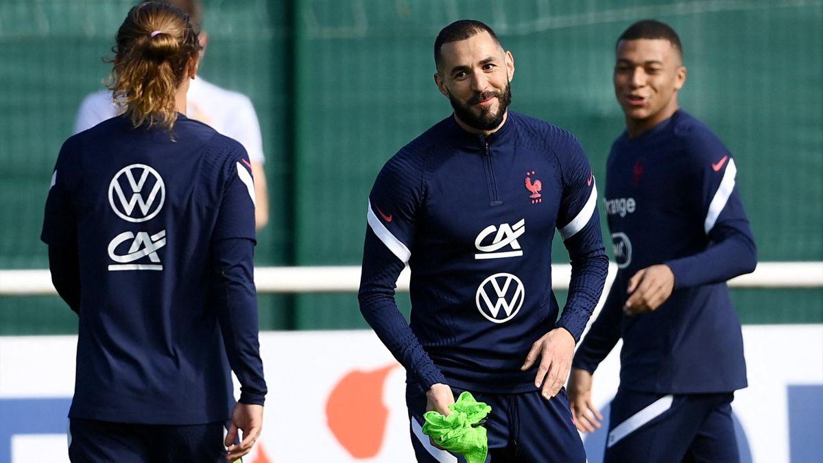Griezmann, Benzema et Mbappé à Clairefontaine cette semaine