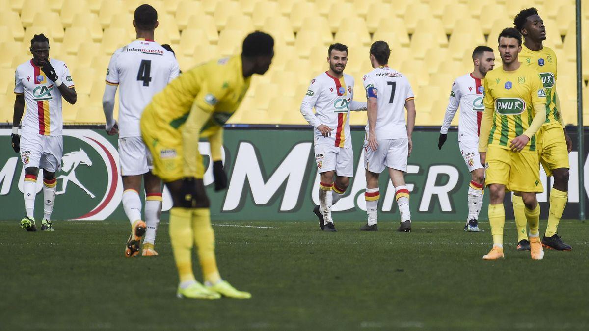 Nantes s'est incliné face à Lens en 32es de finale de la Coupe de France