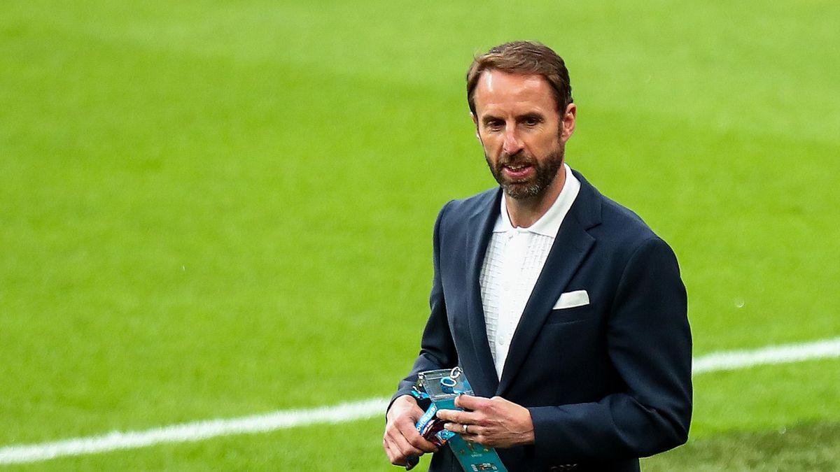 Главный тренер сборной Англии Гарет Саутгейт на Евро-2020