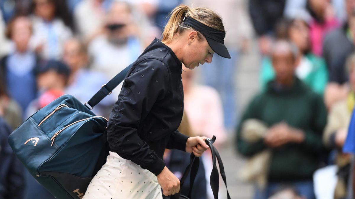 Maria Sharapova, US Open, 2017