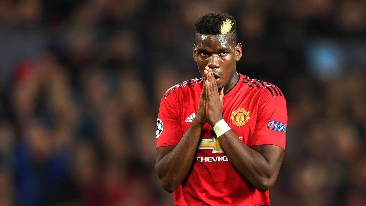 Pogba im Trikot von Manchester United
