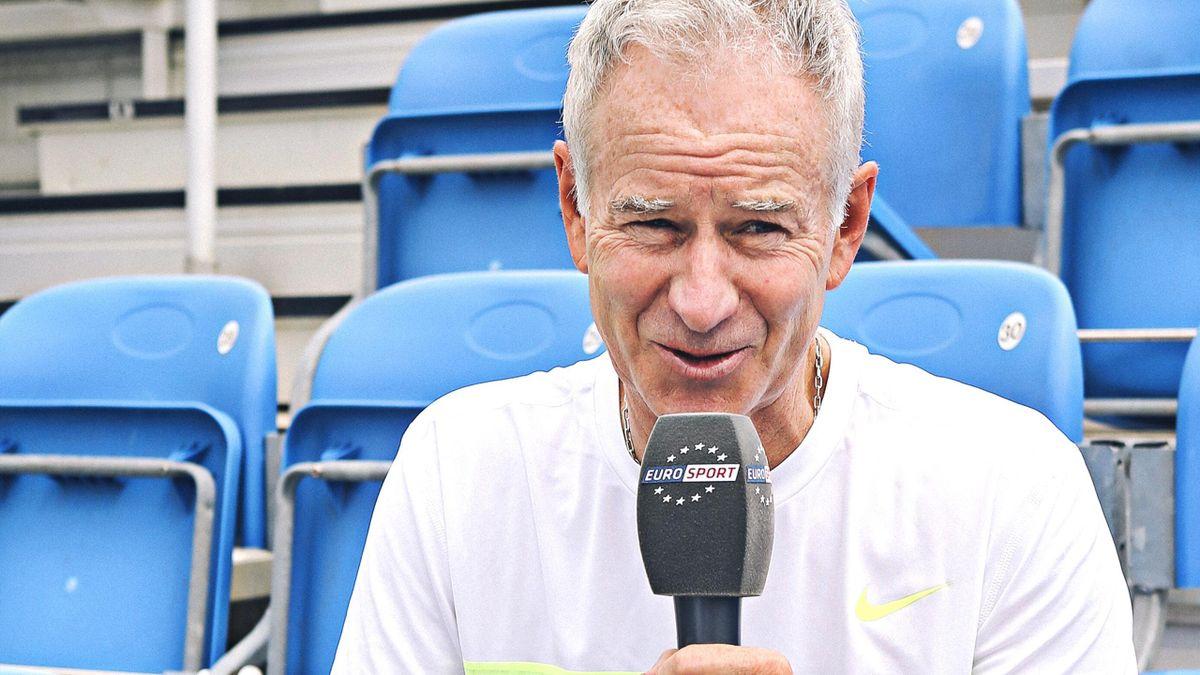 John McEnroe  Roland Garros