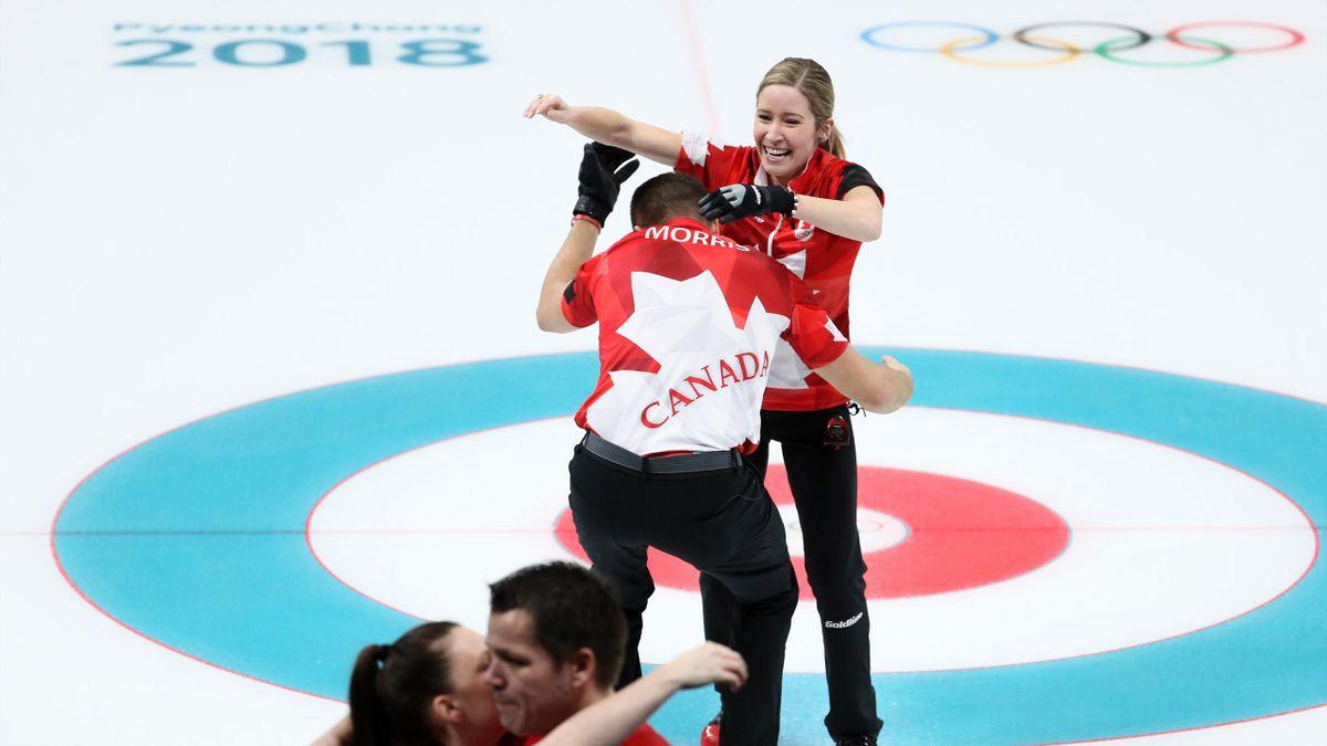 le Canada champion olympique de double mixte