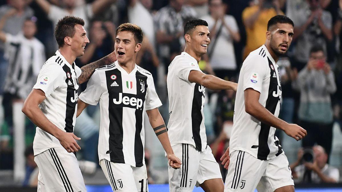 Mario Mandzukic, Cristiano Ronaldo, Paulo Dybala, Juventus-Napoli, Serie A 2018-2019, Getty Images