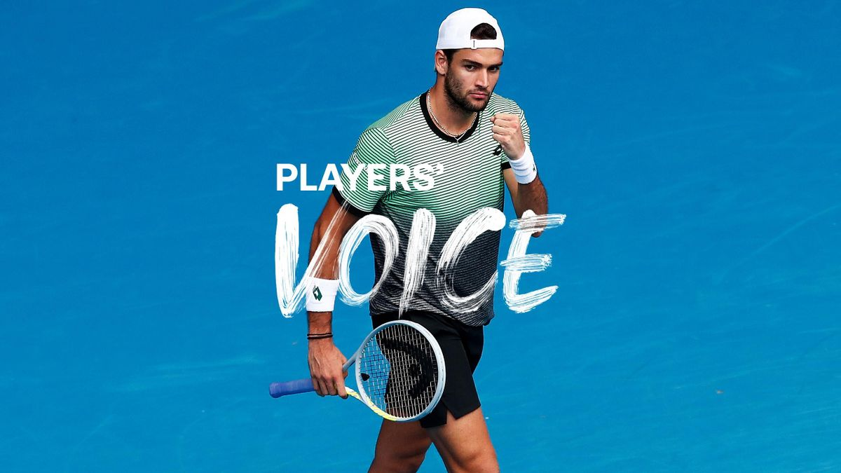 Players' Voice mit Matteo Berrettini