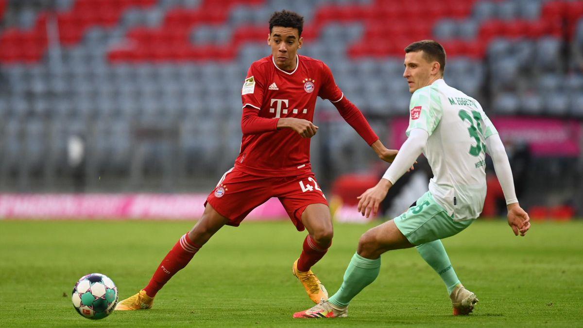 FC Bayern München gegen den SV Werder Bremen