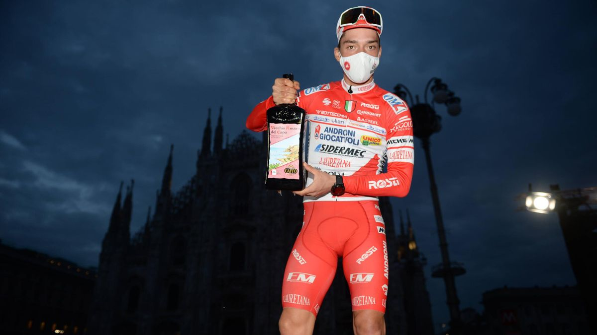 Simon Pellaud - Giro d'Italia 2020, stage 21 - Imago pub not in FRAxNED