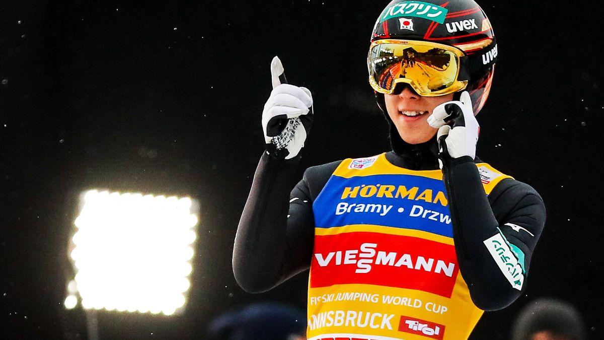 Ryoyu Kobayashi in Innsbruck 2019
