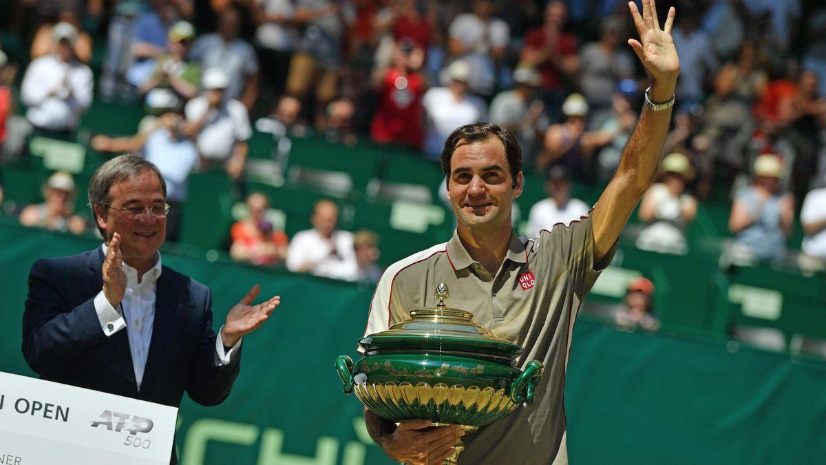 Federer Gana en el ATP de Halle