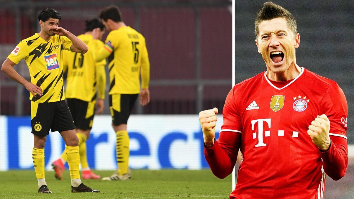 Frust beim BVB, Juvel bei Bayern-Goalgetter Robert Lewandowski