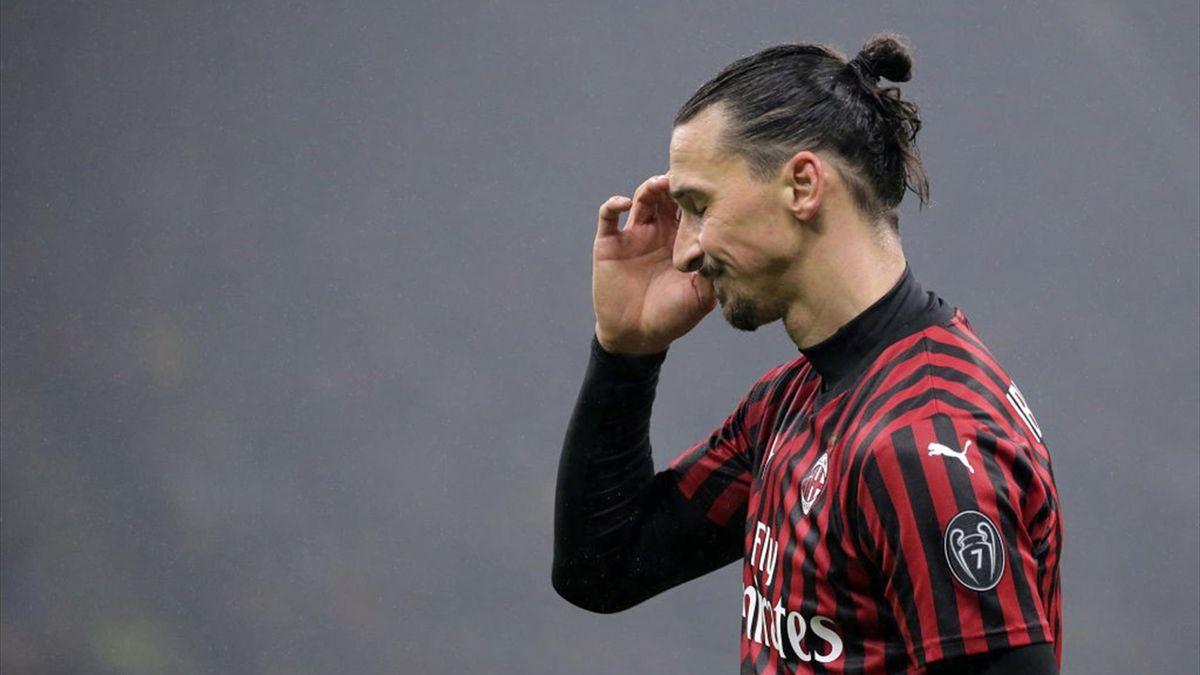 Zlatan Ibrahimovic vom AC Mailand