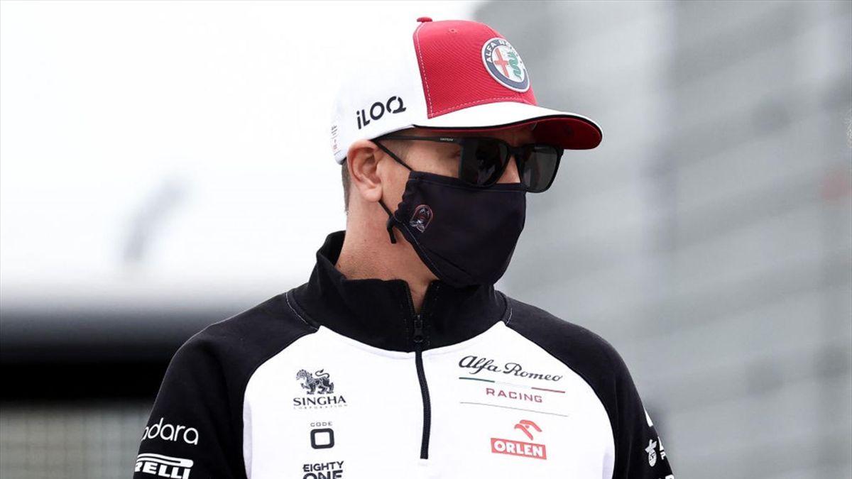 Kimi Räikkönen (Alfa Romeo) au Grand Prix des Pays-Bas 2021