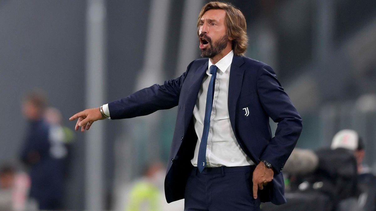 Andrea Pirlo a debutat pe banca lui Juventus