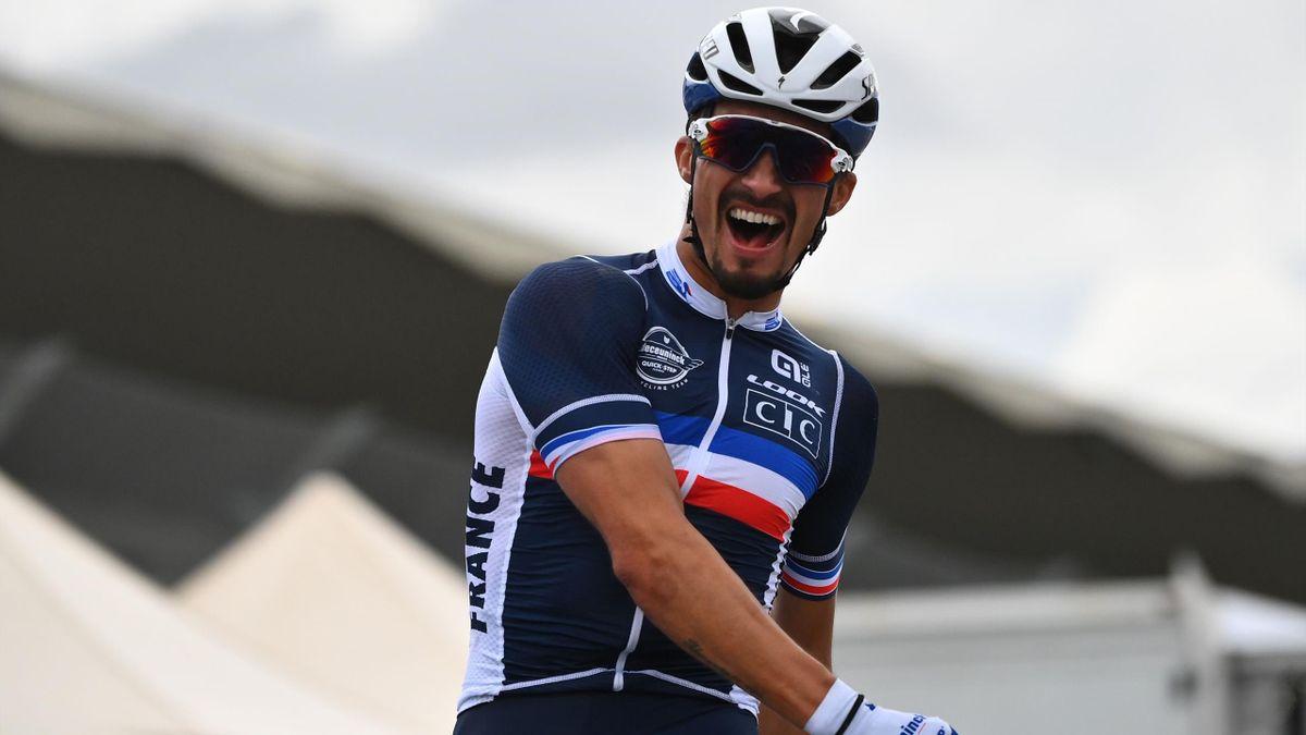 Julian Alaphilippe champion du monde.