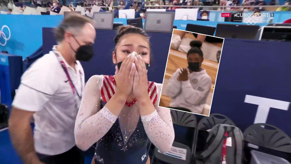 'She's done it!' - Biles applauds as Lee clinches gold for Team USA