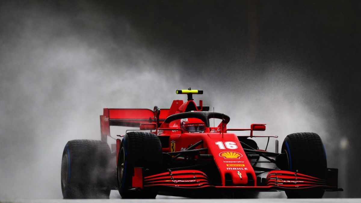 Charles Leclerc (Ferrari) au GP de Styrie