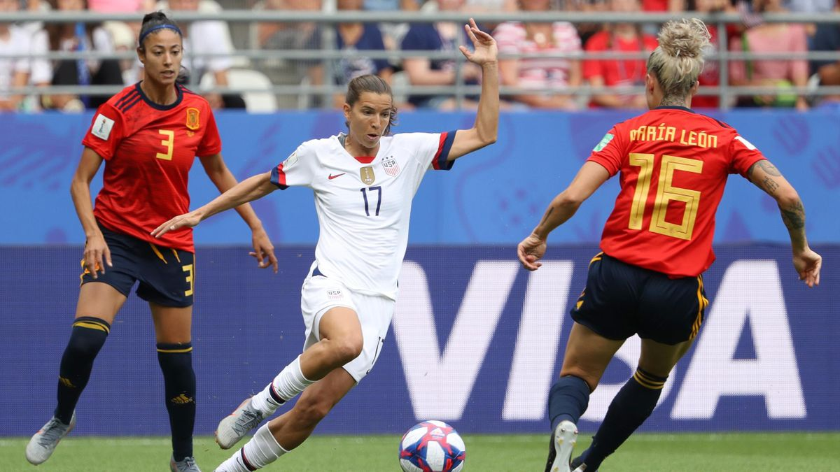 Frauen-WM | Achtelfinale Spanien - USA
