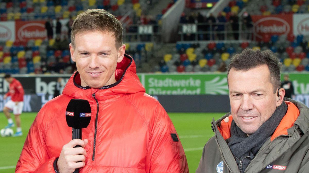 Julian Nagelsmann und Lothar Matthäus