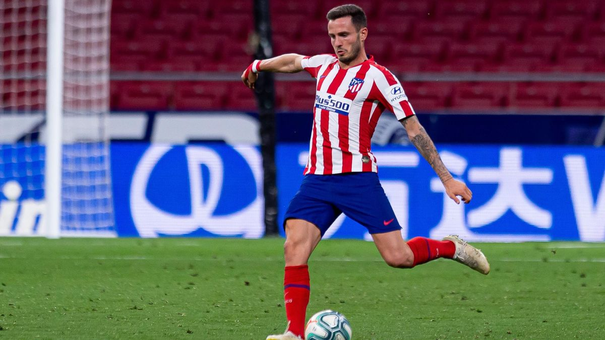 Saúl Níguez von Atlético Madrid