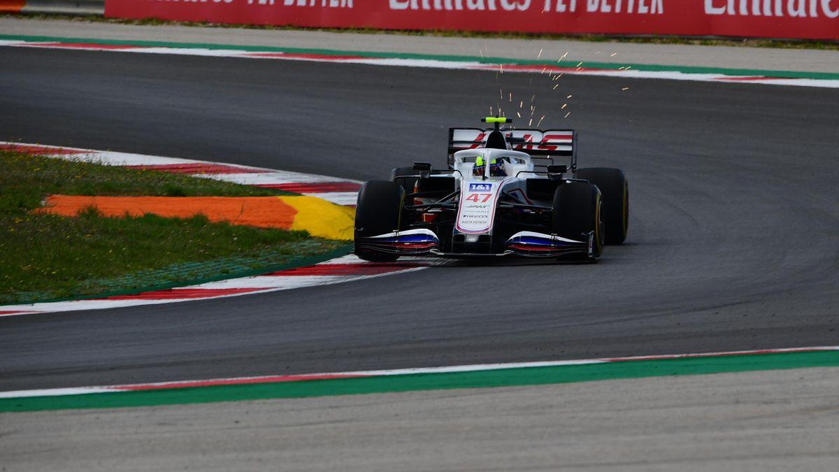 Haas-Pilot Mick Schumacher überzeugte im Training in Portugal