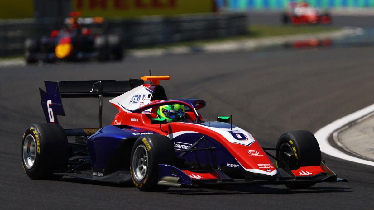 David Schumacher hat in beiden Rennen in Ungarn Punkte gesammelt