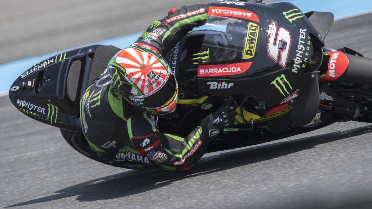 Johann Zarco (Yamaha Tech3) lors du Grand Prix de Thaïlande 2018