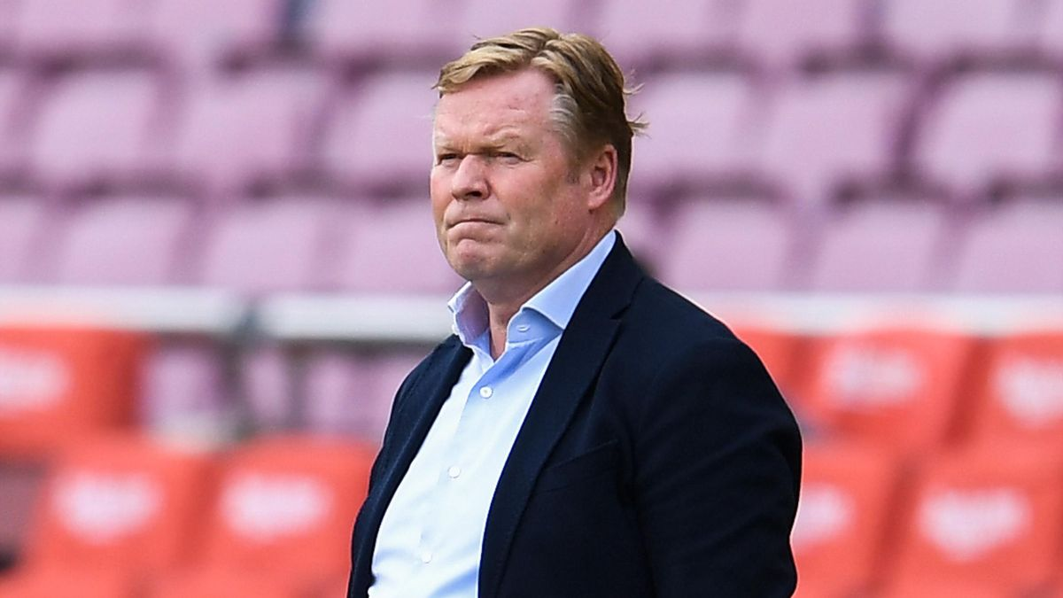 Barcelona boss Ronald Koeman claims he has not had support from the board
