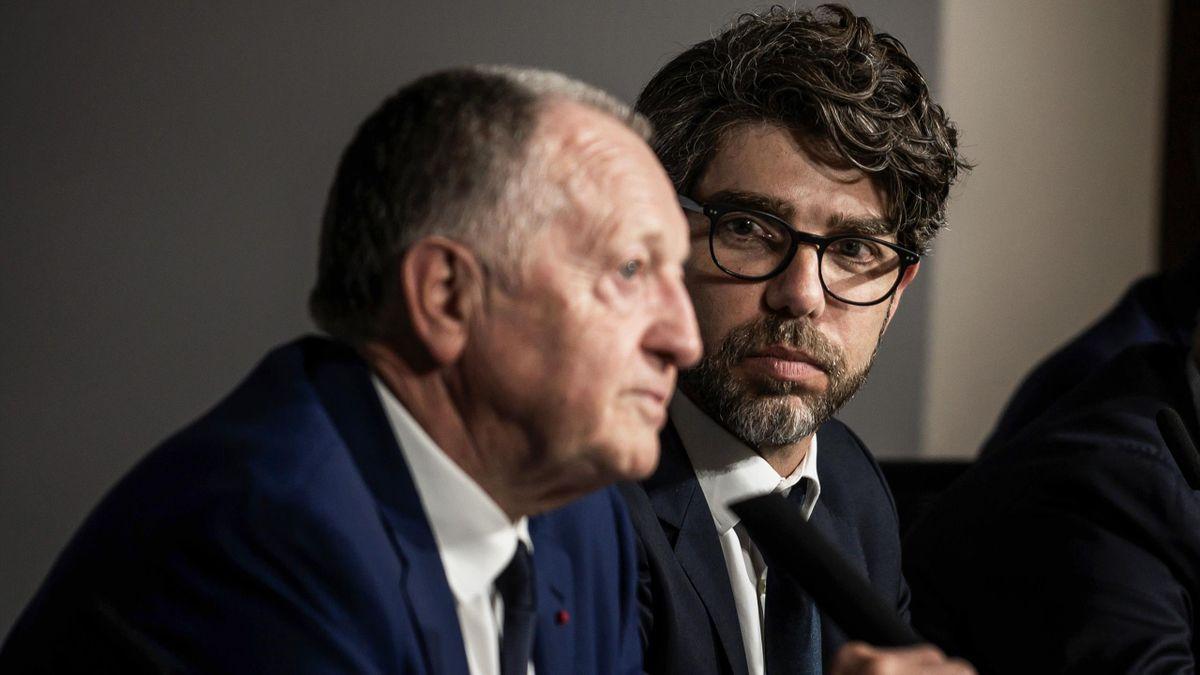 Jean-Michel Aulas et Juninho