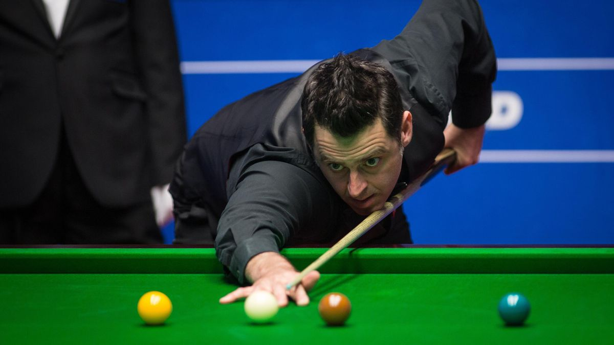 Ronnie O'Sullivan im Crucible Theatre