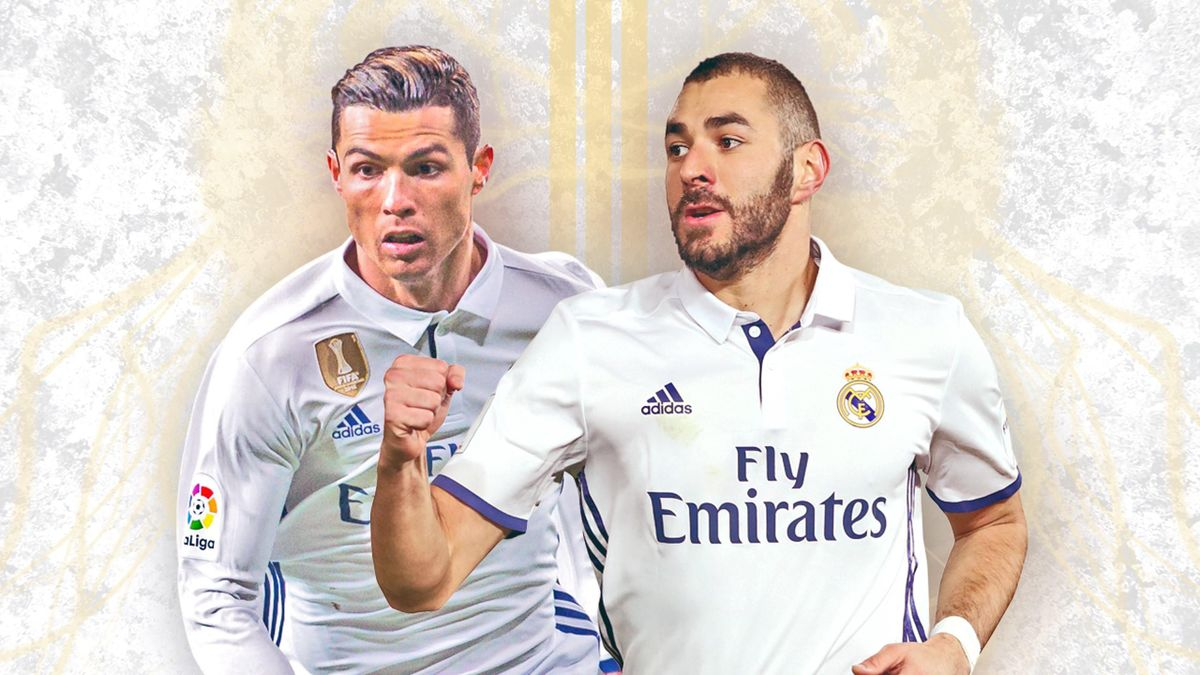 Cristiano Ronaldo et Karim Benzema - Real Madrid 2017