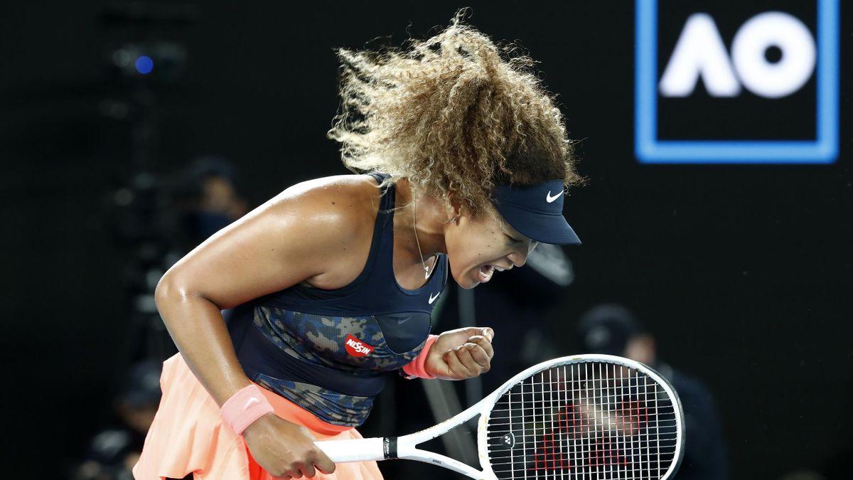 Naomi Osaka im Finale der Australian Open 2021 gegen Jennifer Brady