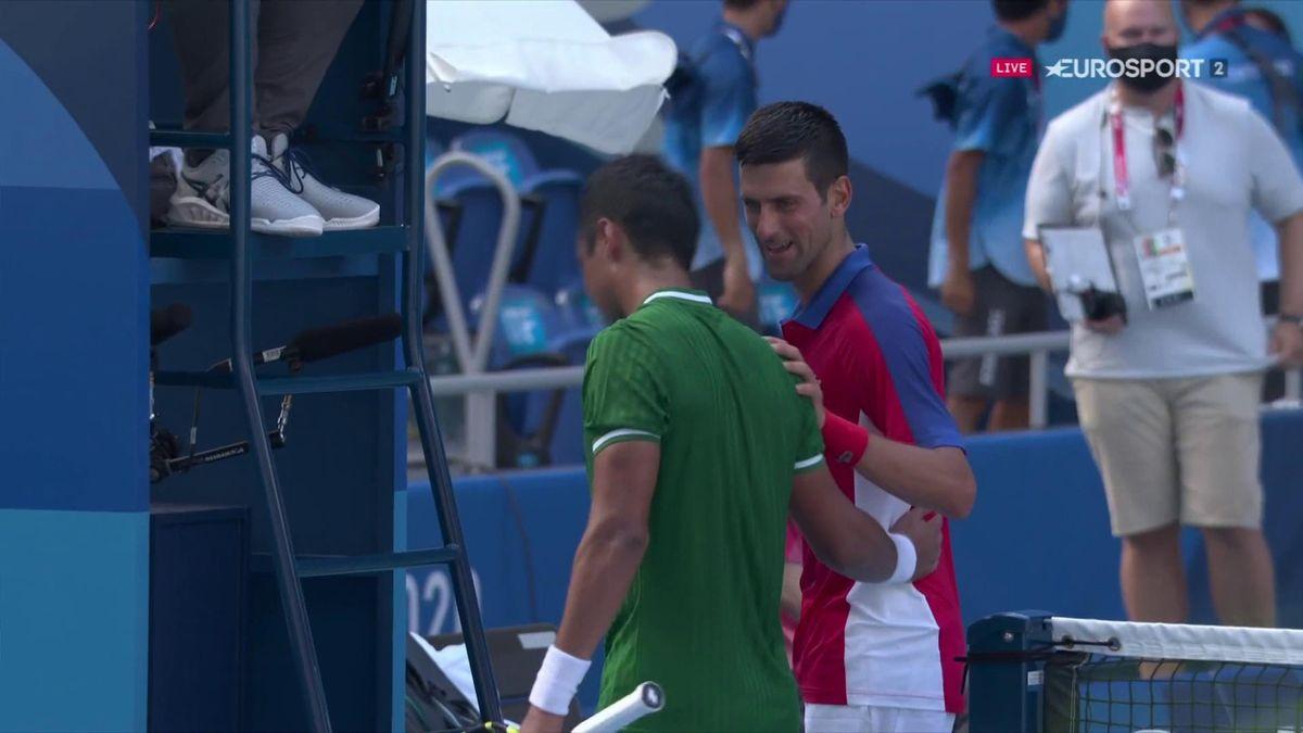 Novak Djokovic si Hugo Dellien