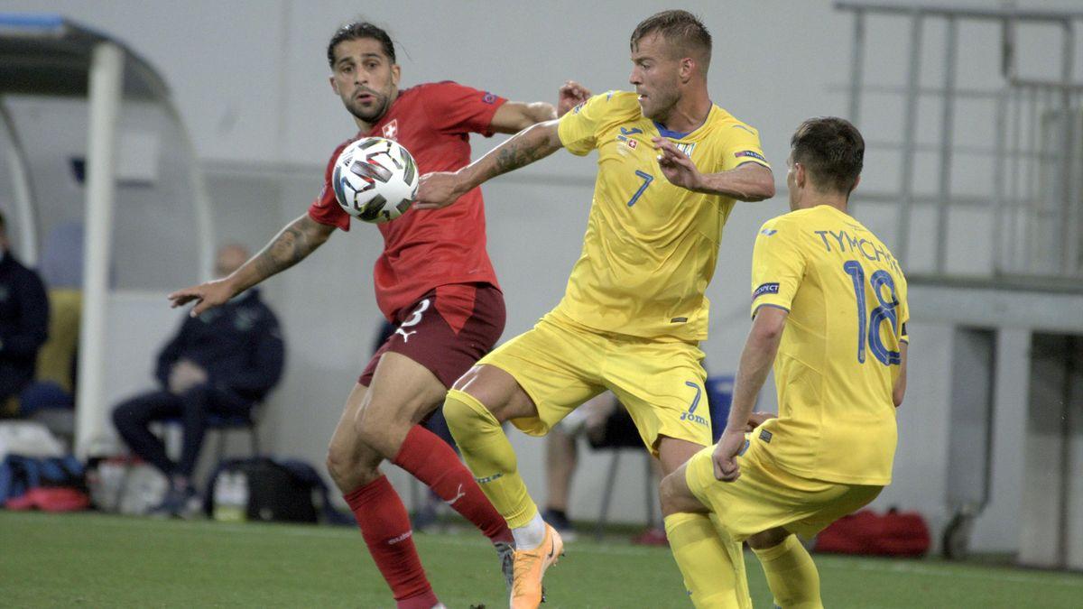 Switzerland, Ukraine, UEFA Nations League