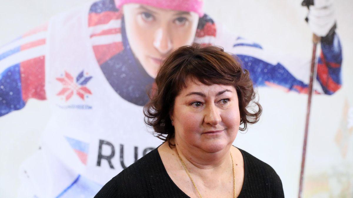 Глава ФЛГР Елена Вяльбе, Россия