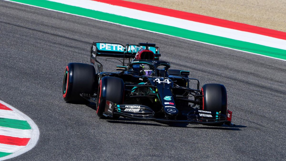 Lewis Hamilton (Mercedes) in Mugello