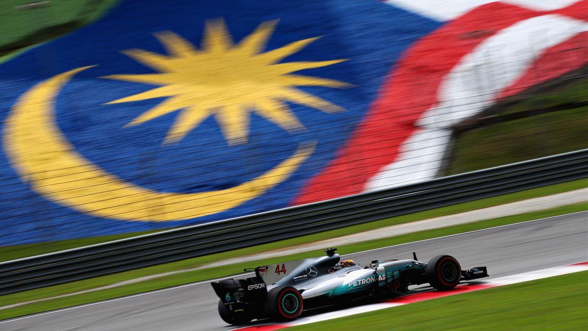 Lewis Hamilton (Mercedes) - Grand Prix of Malaysia 2017