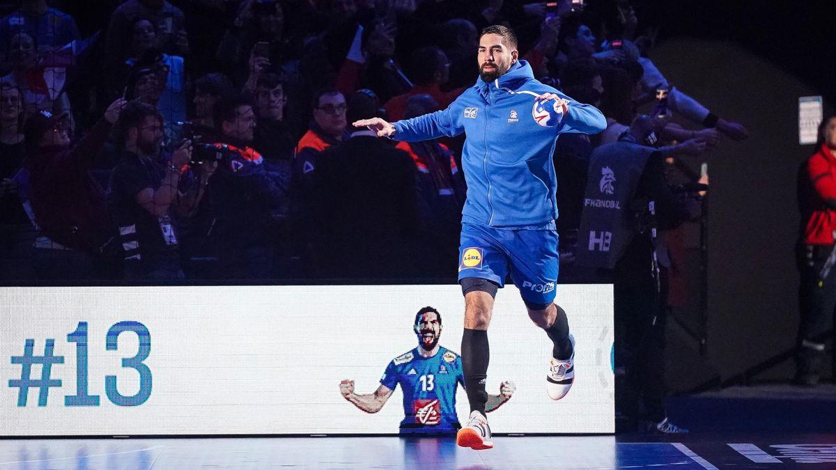 Nikola Karabatic (France) avant un match de Golden League face au Danemark - 05/01/2020