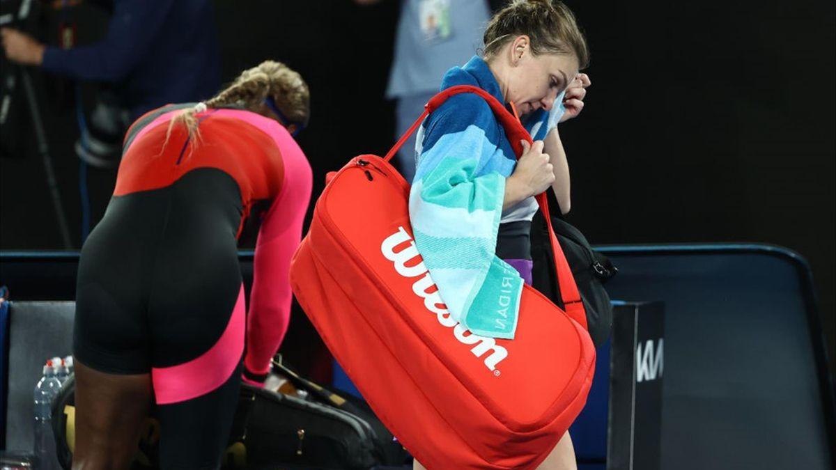 Simona Halep - Serena Williams 3-6, 3-6, la Australian Open
