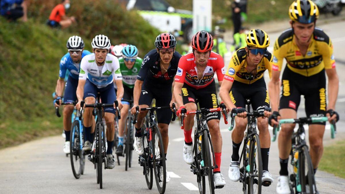 Primoz Roglic a pierdut duminică tricoul roșu, dar e mare favorit să câștige Vuelta 202