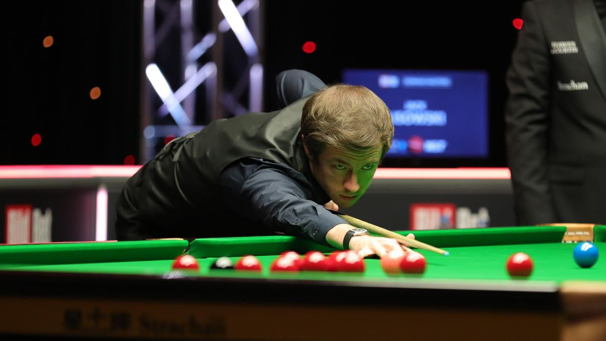 Jack Lisowski at the German Masters (World Snooker)
