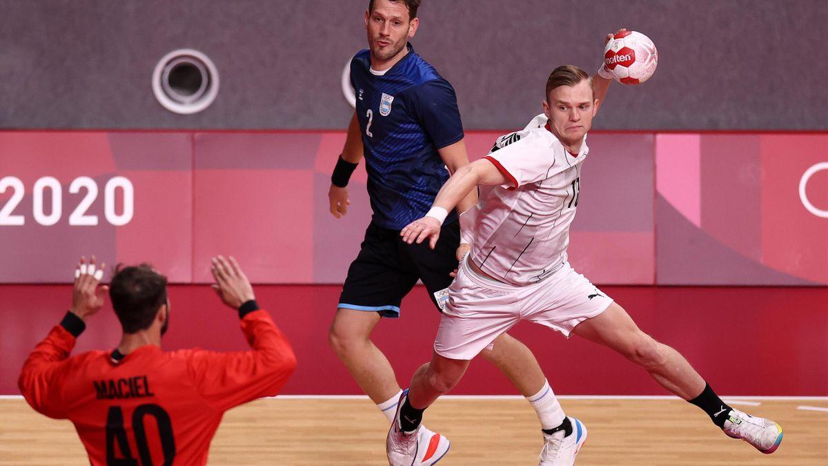 DHB gewinnt erstes Spiel bei Olympia