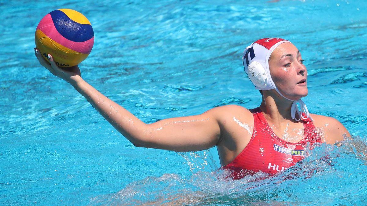 Rybanska Natasa elöl és hátul is nagy erősítést jelent a csapatnak - Fotó: Derencsényi István/MVLSZ