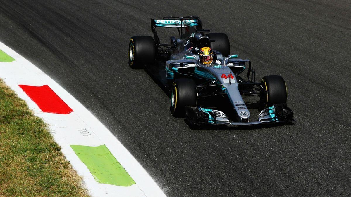 Lewis Hamilton (Mercedes) - Grand Prix of Italy 2017