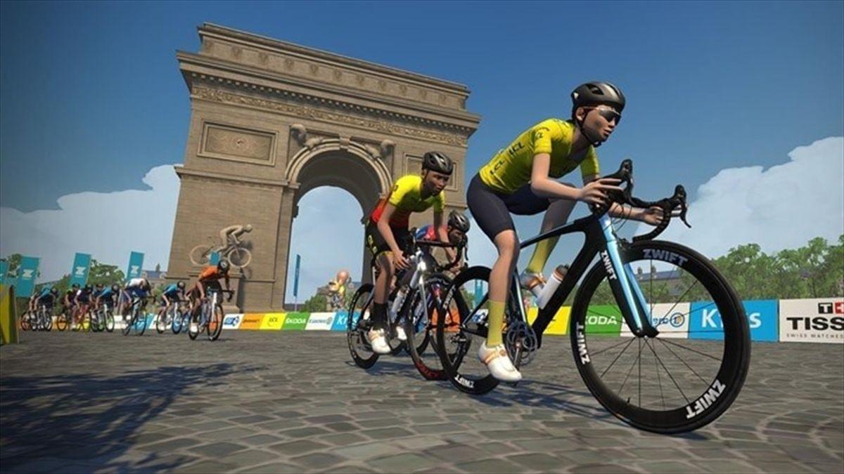 Turul Franței virtual